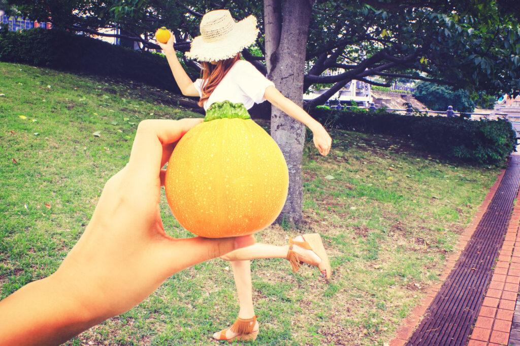 レモンと女の子